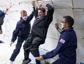 رواد الفضاء من ذوى الإعاقة يتدربون على رحلة بدون جاذبية بارتفاع 32000 قدم