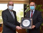 وزير الطيران المدنى يلتقى مدير عام المنظمة العربية للطيران