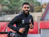 48 ساعة تفصل حسين الشحات عن الانتظام فى التدريبات الجماعية للأهلى
