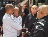 حسام حسن ينسق مع إمام محمدين بشأن الاستعانة بناشئي زعيم الثغر