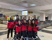 منتخب الريشة الطائرة إلى أوغندا للمشاركة فى البطولة الأفريقية