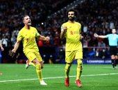أهداف الثلاثاء.. ثنائية صلاح في أتلتيكو.. وخماسية ريال مدريد أمام شاختار