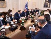 الرئيس السيسي يشهد فى أثينا توقيع اتفاقيتين للربط الكهربائى مع قبرص واليونان