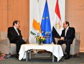 زعماء مصر وقبرص واليونان: التعاون الثلاثى انعكس إلى حزمة مشروعات مثمرة
