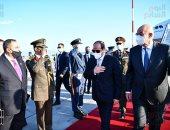 الرئيس السيسى يستهل زيارته إلى أثينا بلقاء رئيس وزراء اليونان