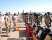 """انطلاق فعاليات التدريب المصرى السودانى المشترك """"حارس الجنوب ــ 1"""""""