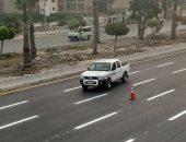 محافظة الإسكندرية تداهم أوكار النباشين وتتحفظ على 7 أطنان كرتون و1.5 طن خردة