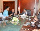 محافظ سوهاج يبحث مع رئيس جهاز تعمير جنوب الصعيد خطة مشروعات الطرق بالمحافظة