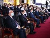 الرئيس السيسي لخريجى الشرطة: كونوا قدوة فى التعامل مع المسائل الأمنية وسلامة المواطن