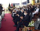 """الرئيس السيسي: """"لن ننسى ولادنا اللى قدموا أرواحهم وحياتهم علشان مصر"""""""