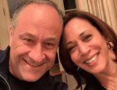 زوج كامالا هاريس يحتفل بعيد ميلادها برسالة رومانسية: دائمًا مليئة بالفرح والحب