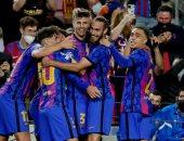 برشلونة يحقق فوزه الأول فى دوري أبطال أوروبا بهدف ضد دينامو كييف.. فيديو
