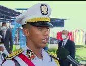 """الأول على كلية الشرطة: الضباط يقدمون """"رسالة""""..ويا رب أفيد مصر والمجتمع"""