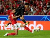 بايرن ميونخ يتعادل سلبيا مع بنفيكا بالشوط الأول فى دوري أبطال أوروبا