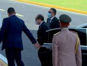 الرئيس السيسى يصل أكاديمية الشرطة لحضور حفل تخرج دفعة جديدة