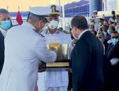 """أخبار مصر.. الرئيس السيسي: """"لن ننسى ولادنا اللى قدموا أرواحهم علشان مصر"""""""