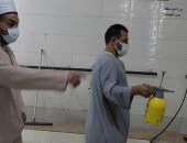 أوقاف الأقصر تنتهى من أعمال تعقيم وتطهير دورات المياه بالمساجد لفتحها اليوم