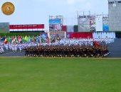 """خريجو كلية الشرطة """"دفعة 2021"""" يؤدون اليمين أمام الرئيس السيسى"""