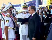 """أخبار مصر.. الرئيس السيسى يوجه بإدراج """"سلام الشهيد"""" بمراسم تخرج كلية الشرطة"""