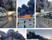 إيران: السيطرة على حريق التهم مصنع أغذية فى المنطقة الصناعية.. فيديو