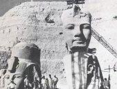 قبل ظاهرة تعامد الشمس.. 10 صور نادرة لنقل وإنقاذ معبد أبوسمبل من الغرق