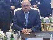 وزير الخارجية يؤكد ضرورة إجراء الانتخابات الليبية فى 24 ديسمبر المقبل