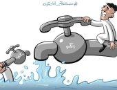انتشار صناع المحتوى غير الهدف على منصات التواصل الاجتماعى فى كاريكاتير سعودى