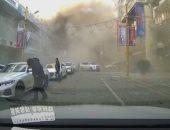 لحظة انفجار ضخم بأحد مطاعم شنيانج الصينية ومصرع 3 وإصابة 30 آخرين.. فيديو