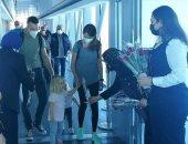 مطار الغردقة يستقبل أول رحلة للخطوط  النمساوية بعد توقفها بسبب كورونا ..صور