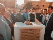 محافظ شمال سيناء يفتتح ميدان المهندسين ومعرض الفن التشكيلى