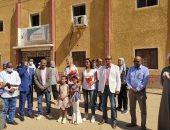ممثلة صندوق الأمم المتحدة بمصر فى زيارة لمركز شباب الحسينات بالأقصر.. صور