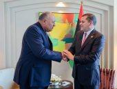 وزير الخارجية يلتقى رئيس حكومة الوحدة الوطنية الليبية لبحث آخر مستجدات الأوضاع