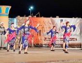 فرق الفنون الشعبية تحيى ليالى مهرجان أسوان لتعامد الشمس بأبوسمبل.. فيديو وصور
