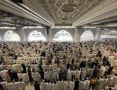 10 صور من أول صلاة جمعة بالمسجد الحرام دون تطبيق التباعد الاجتماعى