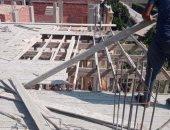 محافظ الشرقية يوجه بإيقاف استكمال أعمال بناء مخالفة لمبنى بعزبة الحكماء