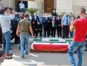 رئيس جامعة القاهرة يتلقى واجب العزاء فى المفكر الراحل حسن حنفى بالحرم الجامعى