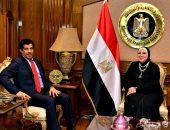 وزيرة الصناعة وسفير قطر يبحثان تطوير العلاقات التجارية والاستثمارية بين البلدين
