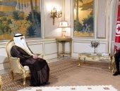 وزير خارجية الكويت لقيس سعيد: مستعدون لتوفير كل أشكال الدعم لتونس