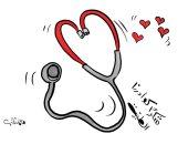 """""""شكرا كوادرنا الطبية"""" فى كاريكاتير اليوم"""