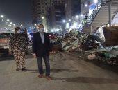 جولة مسائية مفاجئة لمحافظ القليوبية بشوارع شبرا الخيمة لمتابعة منظومة النظافة
