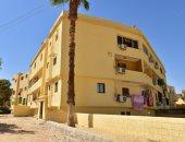 الانتهاء من طلاء 2000 منزل على طريق الكباش الفرعونى قبل افتتاح المشروع.. صور