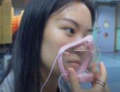 خبراء فى هونج كونج يبتكرون تصميما جديدا لكمامات شفافة يكسر حاجز التواصل.. صور
