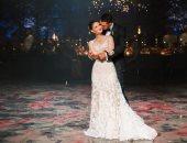 بقبلة على جبينها.. ابنة بيل جيتس تكشف عن صورة جديدة من حفل زفافها على نائل نصار