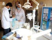 تطعيم 1300 مواطن ضد كورونا فى قافلة طبية ضمن مبادرة حياة كريمة بالغربية