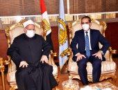 محافظ الغربية ومُفتى الديار المصرية يوقعان عقدا لإقامة فرع للإفتاء بالغربية