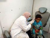 """""""صحة أسوان"""": الكشف الطبى على 2481 مواطناً بالمجان ضمن قوافل حياة كريمة"""