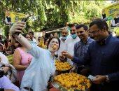 الفرحة بالألوان.. الهند تحتفل بتطعيم مليار مواطن ضد كورونا