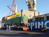 ميناء الأدبية يستقبل عربات القطار الكهربائي.. وأول شحنة حديد بحمولة 165 ألف طن