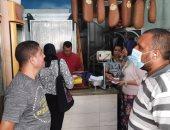 ضبط 1179 حالة إشغال وغلق 105 محلات ومقاهى مخالفة بالإسكندرية.. صور