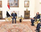 الرئيس السيسي يؤكد تطلع مصر لتطوير العلاقات المستقبلية مع الاتحاد الأوروبى
